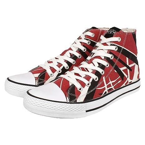 9eb46f77735d97 EVH EDDIE VAN HALEN Burgandy Red HI Top Shoes Sneakers Size 11 NEW   Amazon.ca  Sports   Outdoors