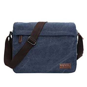 9f2cc01358f5e Umhängetasche Leinwand Messenger Bag Laptop Tasche Computer Tasche 14 Zoll  Umhängetasche aus Segeltuch Tasche Arbeiten Tasche