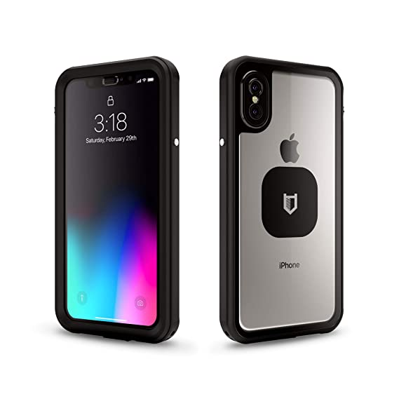 088b6be9d0e HITCASE SHIELD LINK iPhone X Case -Thinnest Waterproof Protective Aluminum  Case/Durable Mountable Snowproof Underwater Cover Magnetic Lens Fully  Sealed ...
