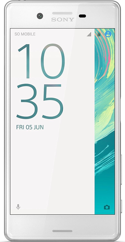 """Sony F5121 Xperia X Smartphone, 5"""", 32 GB, 3 GB RAM, Bianco"""