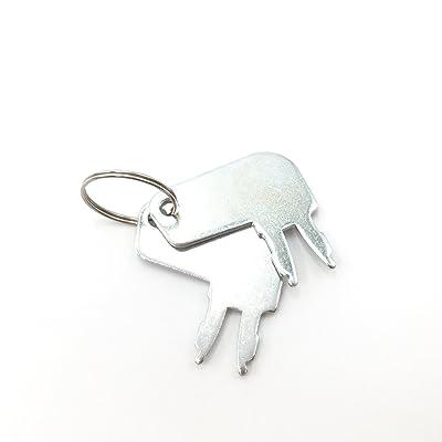 2 Pcs/Set Key for 8H5306 Caterpillar ignition Switch 7N0718: Automotive