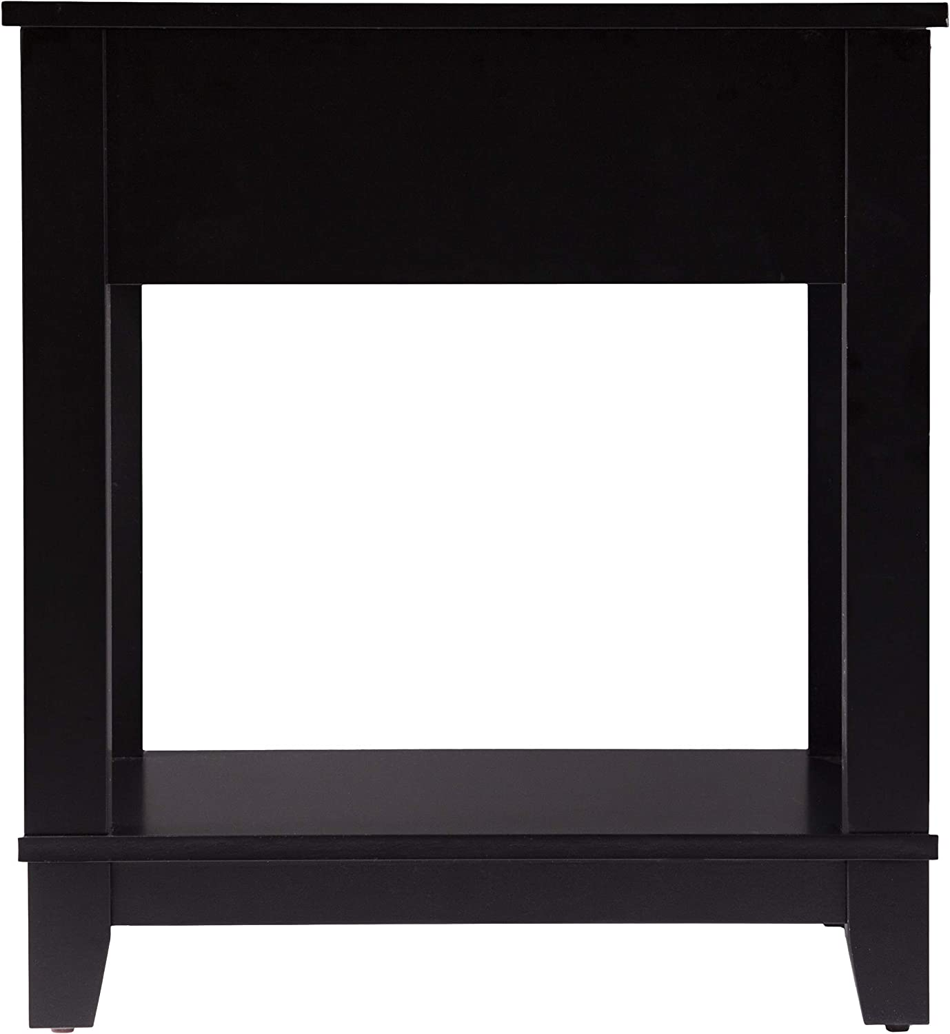 Amazon.com: Holly & Martin Chekshire Square End Table Black ...