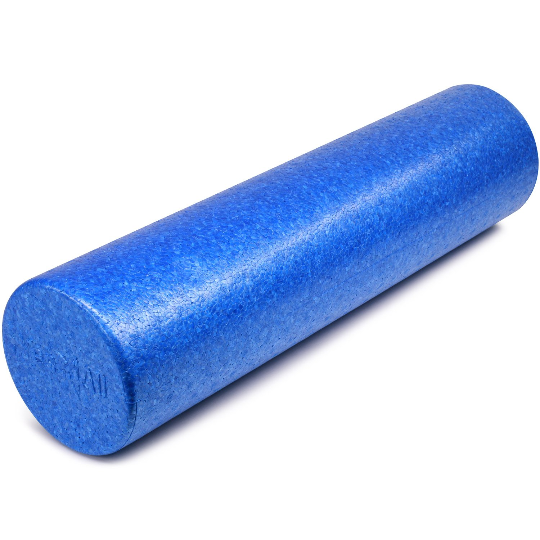 Yes4All EPP Exercise Foam Roller – Extra Firm High Density Foam Roller – Best for Flexibility and Rehab Exercises (24 inch, Blue)