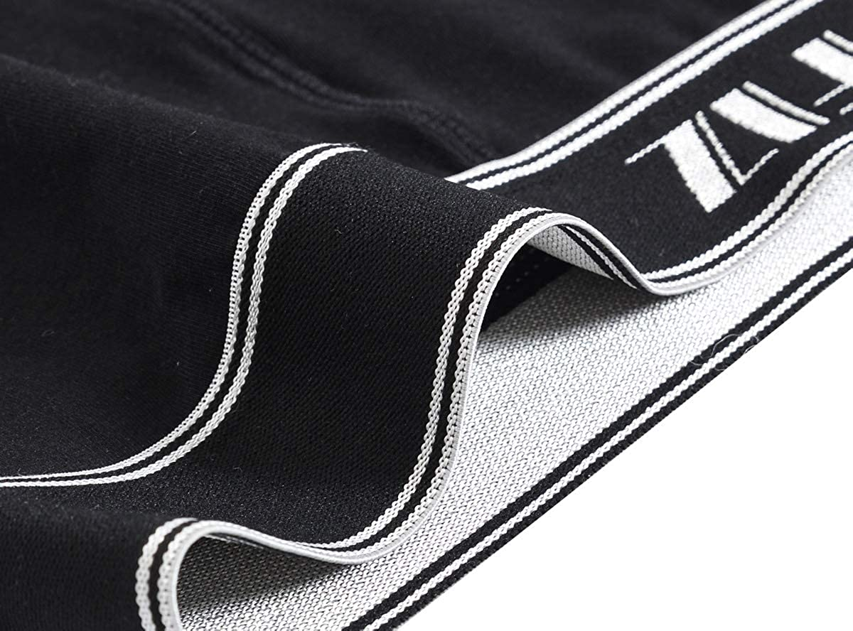 JINSHI Mens Boxer Briefs Micro Modal Super-Soft Long Leg Boxer Shorts