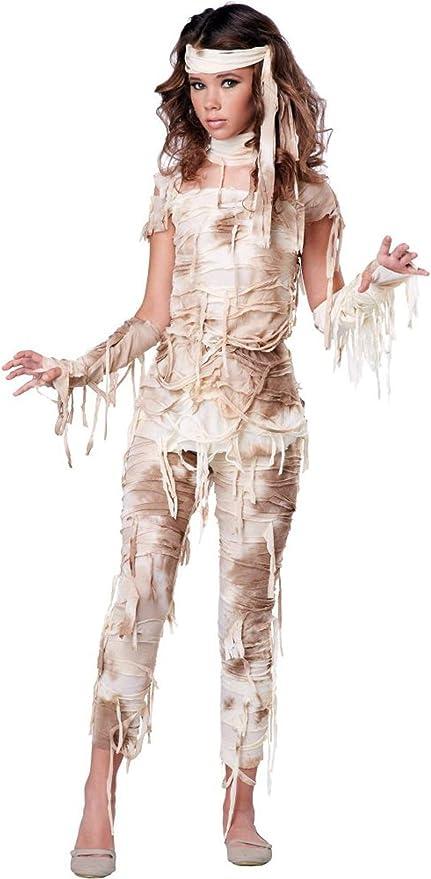 Amazon Com California Costumes Mysterious Mummy Tween Costume Large Toys Games