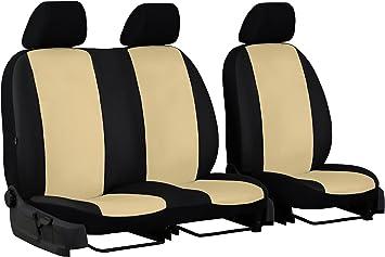 Coprisedili Rivestimenti Set ESS per VW Crafter Tessuto Grigio Scuro