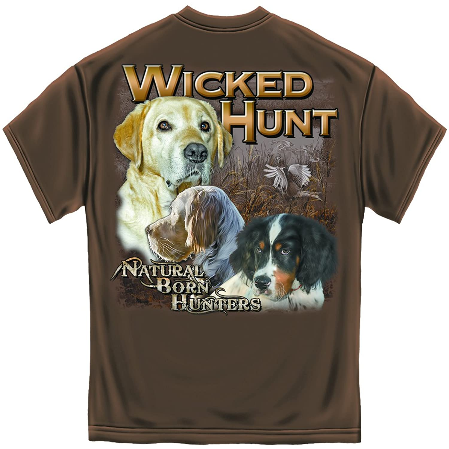 Erazor Bits Wicked Hunt Natural Born Hunters T-Shirt