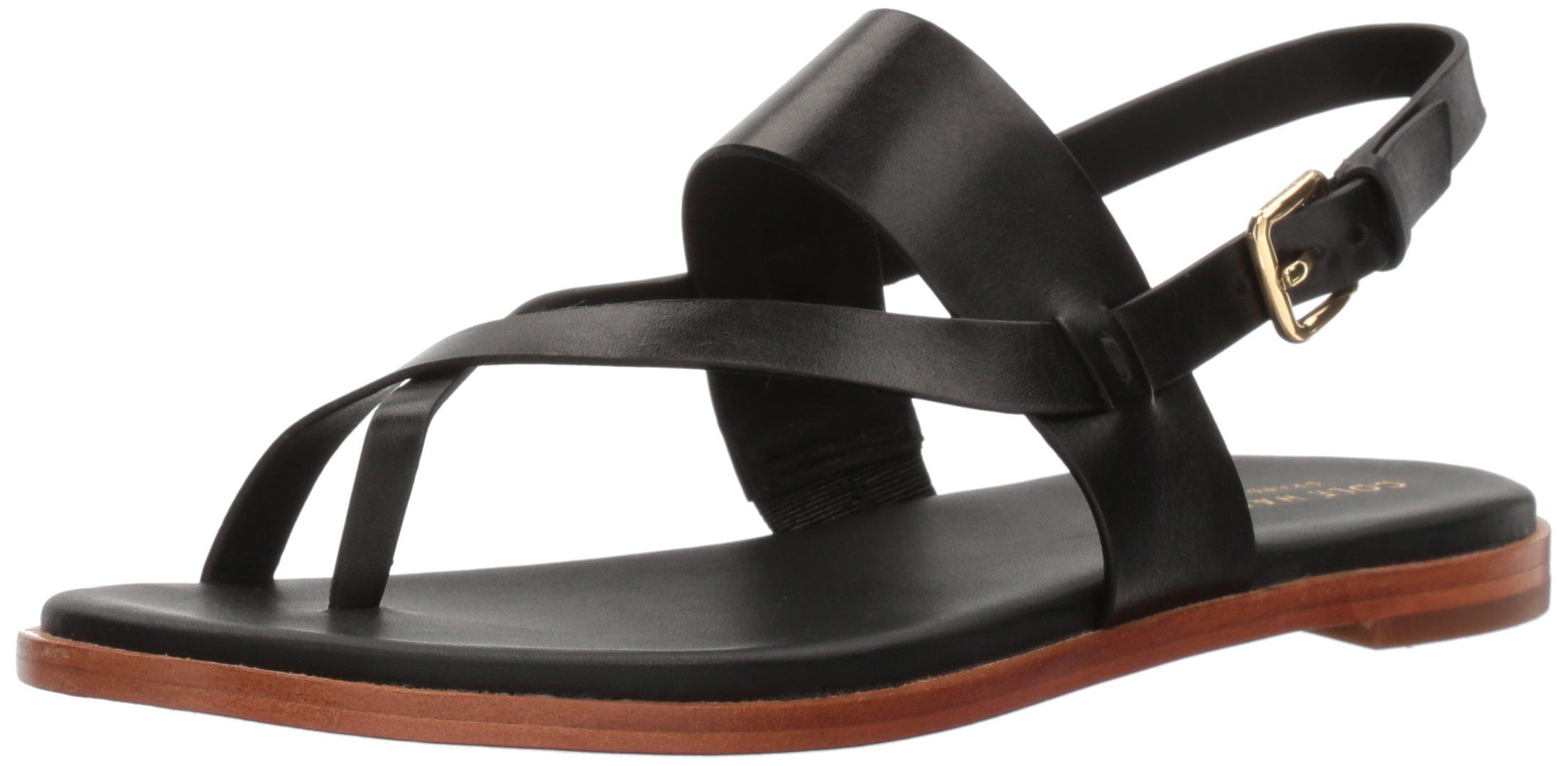 ویکالا · خرید  اصل اورجینال · خرید از آمازون · Cole Haan Women's Anica Thong Sandal Flat, Black, 8 B US wekala · ویکالا