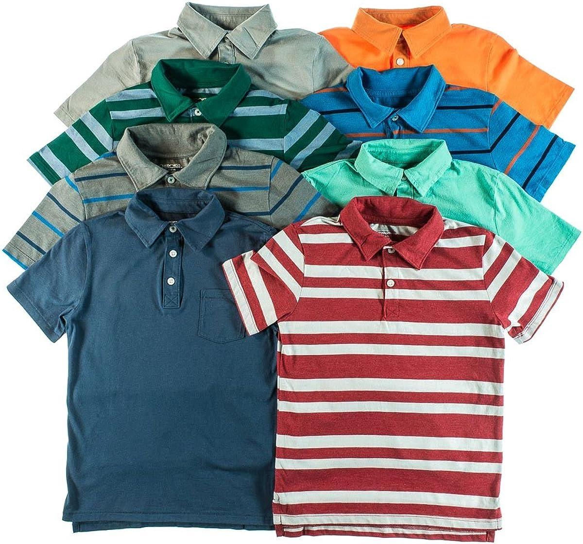 Cherokee Boys Peso ligero Knit Polo Camisas (2-Pack), varios colores: Amazon.es: Ropa y accesorios