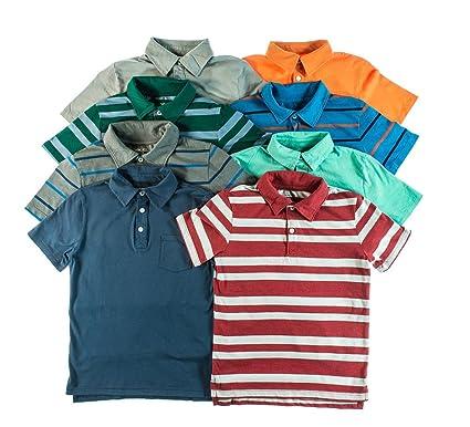 Cherokee Boys Peso ligero Knit Polo Camisas (2-Pack), varios ...