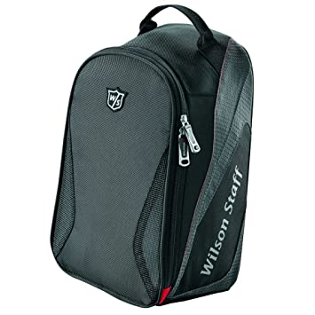 Footjoy Nylon Shoe Bag - Bolsa de zapatos, color negro