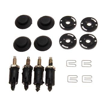 Tornillos y clips para motor diesel, para Peugeot HDI 206, 207, 306, 307, 406, PARTNER: Amazon.es: Coche y moto