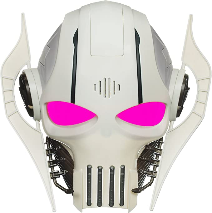 Molded leather Grievous Mask