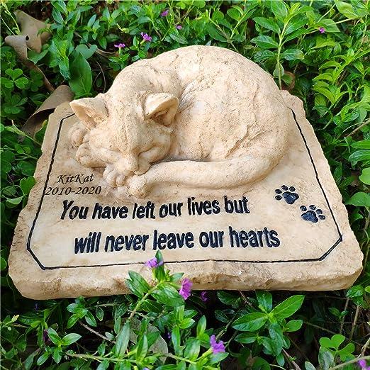 Pet Memorial Stone Cat