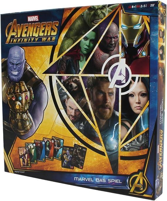 Avengers Infinity War Board Game 2-5 Jugadores Edición Alemana Marvel Elbenwald: Amazon.es: Juguetes y juegos