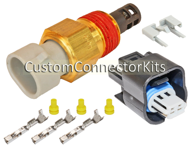 Amazon.com: GM Delphi Packard 2 Pin Intake Air Temperature Sensor ...