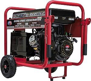 America APGG10000GL 10000 Watt Dual Fuel Portable Generator