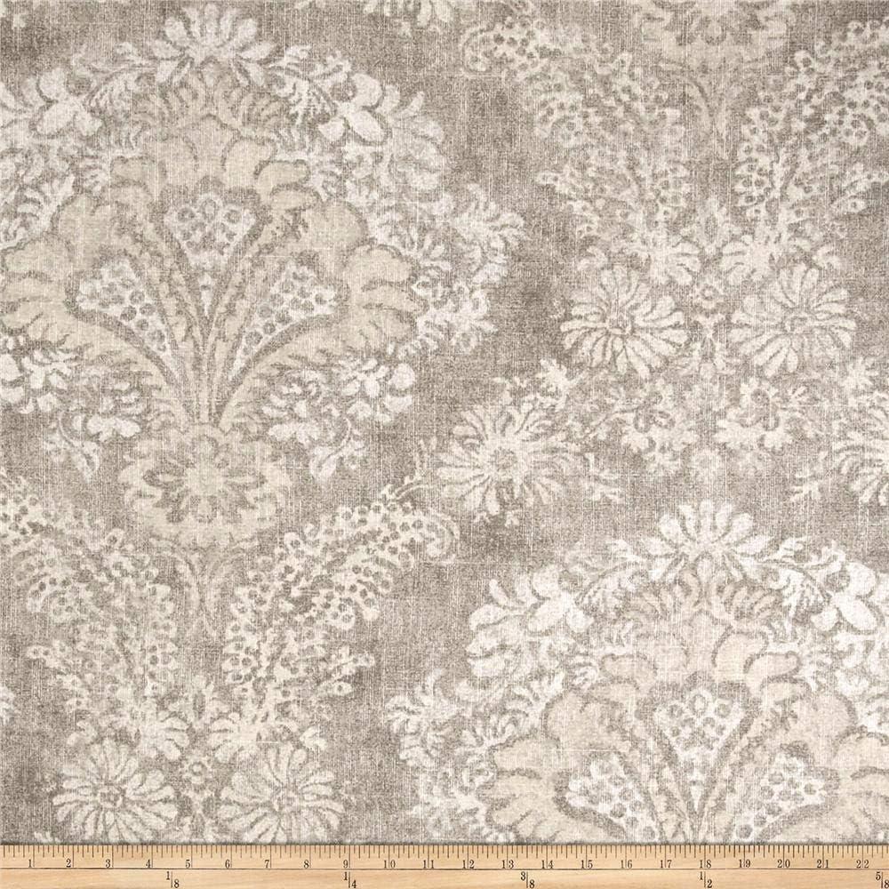 Magnolia Home Fashions Hamilton Fabric, Stone