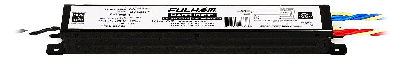 Fulham Lighting Fulham Racehorse Linear Ballast for T5HO, RHA-UNV-254-LT5 Fulham Co. Inc.