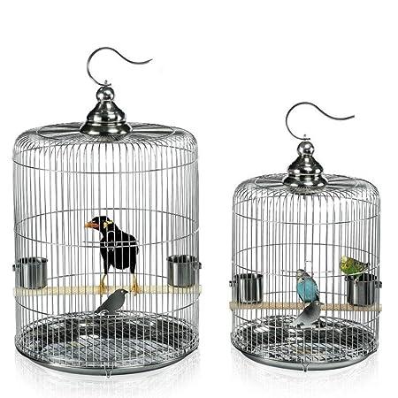 Jaula De Pájaros, Jaula De Pájaros De Acero Inoxidable/Jaula De ...