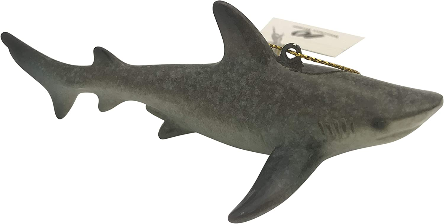 Westman Works Great White Shark Christmas Ornament Tree Decoration, 4 Inches Long