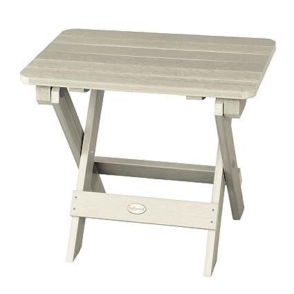 Highwood Folding Adirondack Side Table, Whitewash - Amazon.com : Highwood Folding Adirondack Side Table, Whitewash