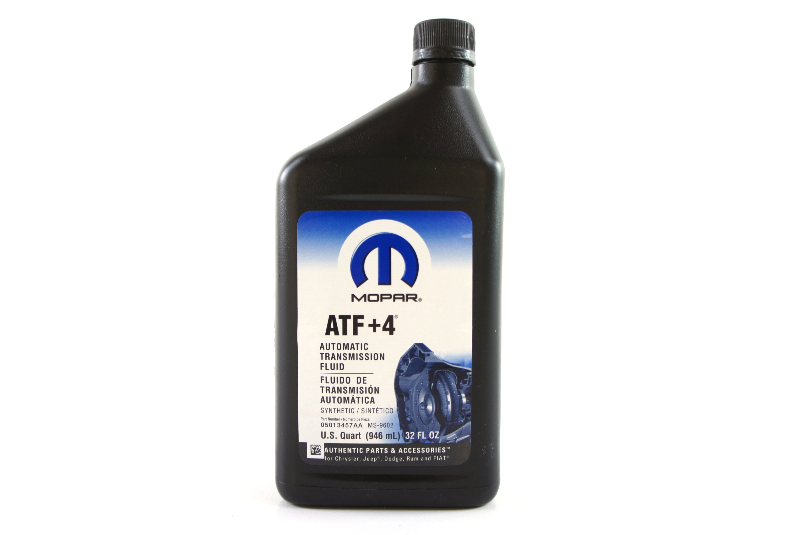 Chrysler (68218057AA) Genuine Mopar Fluid ATF+4 Automatic Transmission Fluid - 1 Quart