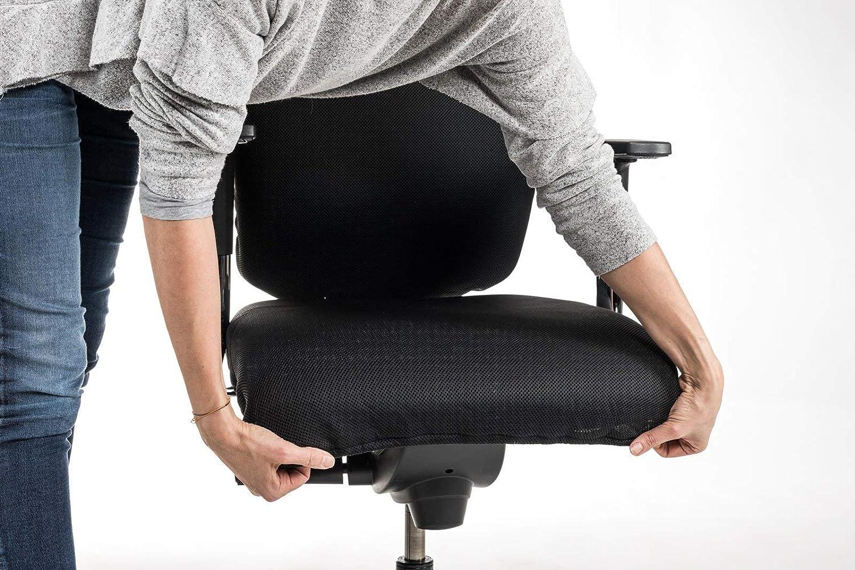 PREMIUM Bürostuhl Überzug Sitzfläche Husse Cover Abdeckung Bezug GRÜN 52x52cm