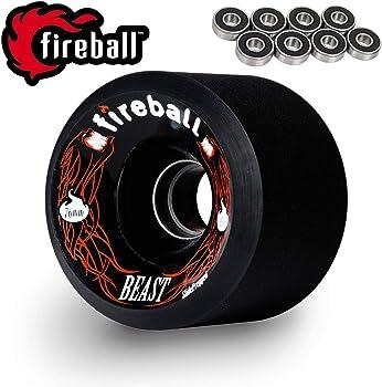 Fireball Beast 76mm Longboard Wheels
