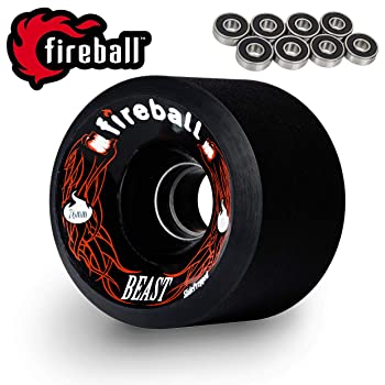 Fireball Beast 76mm Longboard Wheels