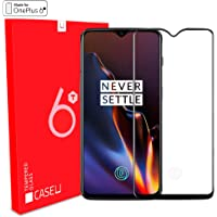 OnePlus-6T Edge-to-Edge 5D Tempered-Glass Screen-Protector for OnePlus-6T (Pack of 1, Black)