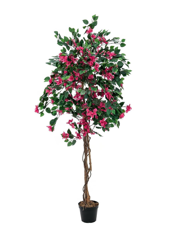 Fleur Artificielle//Faux Arbre d/éco artplants Rose Fuchsia 150 cm Bougainvill/ée//Bougainvillier Artificiel 1000 Feuilles