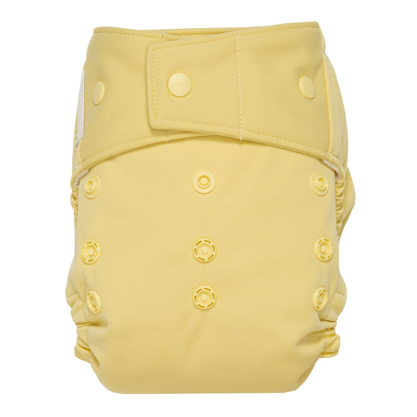GroVia® Hybrid One-Size Cloth Nappy Shell, Snaps, Chiffon The Natural Baby Company PO#384