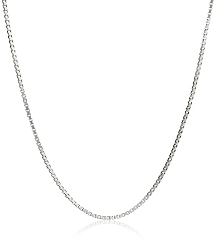 Amazon honolulu jewelry company sterling silver 1mm box chain honolulu jewelry company sterling silver 1mm box chain 14 inches child size aloadofball Choice Image