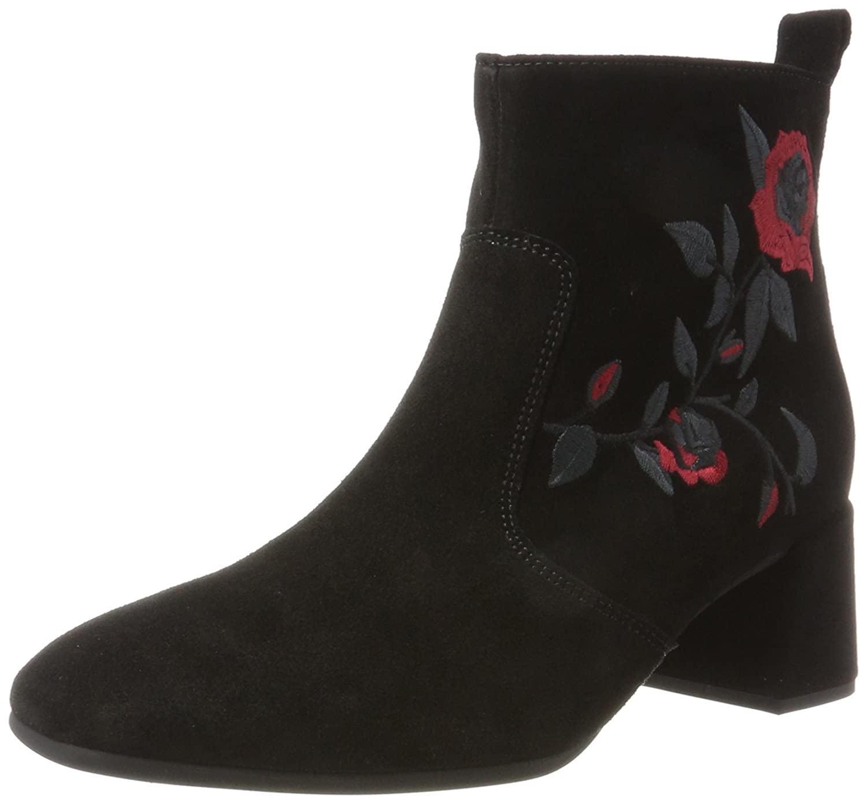 Gabor Shoes Gabor Basic, Botas para Mujer42 EU|Negro (17 Schwarz Rot)