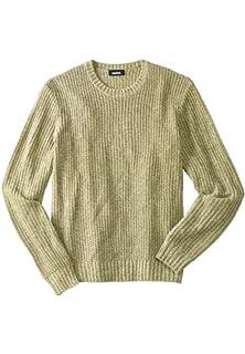 447c968e2a KingSize Men s Big   Tall Shaker Knit Crewneck Sweater