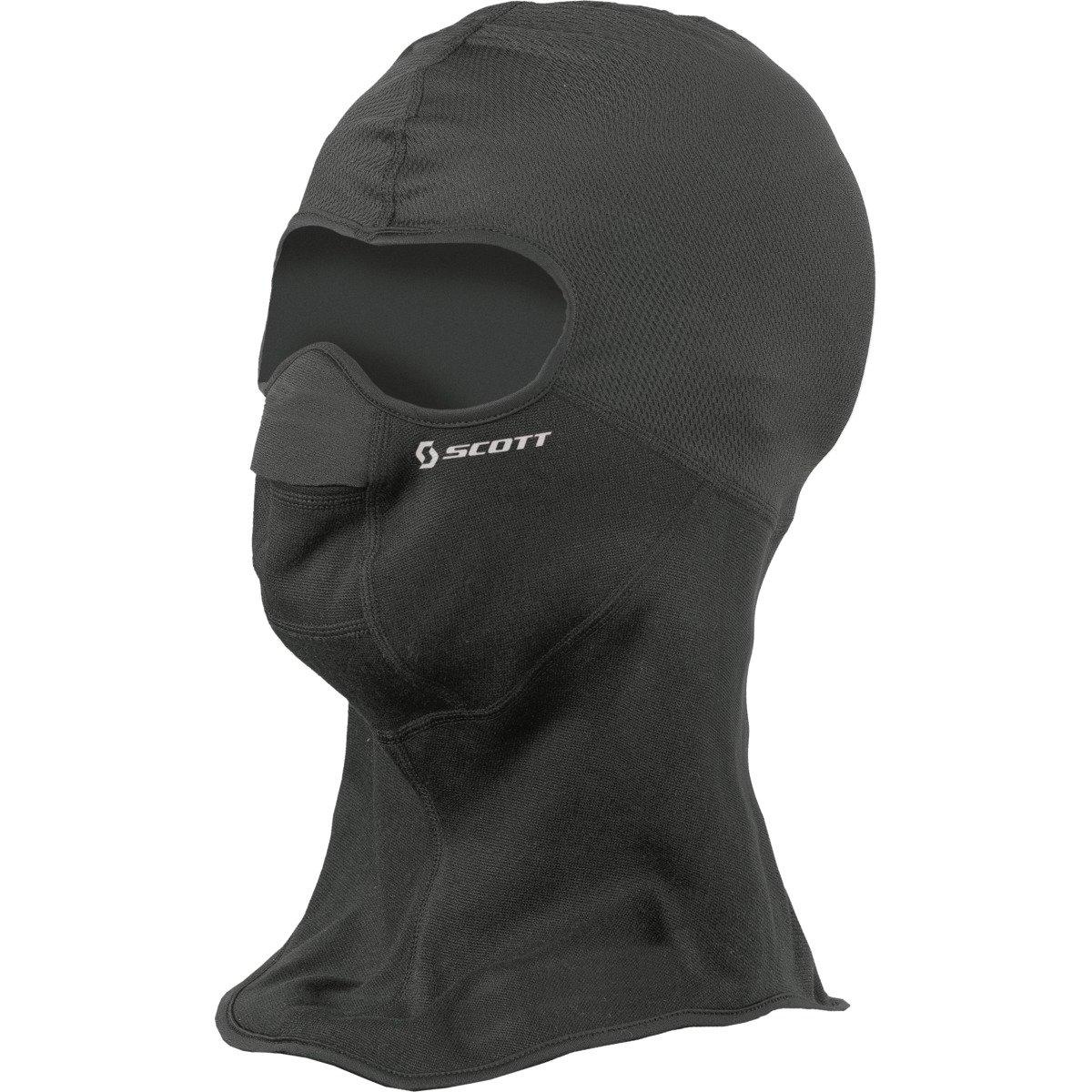 Scott Wind Warrior Hood Facemask Motorrad/Fahrrad / Ski Gesichtsmaske schwarz