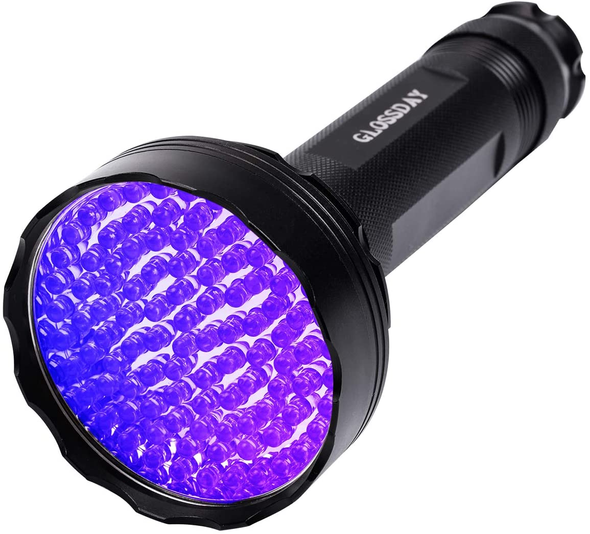 Black Light UV Torch Flashlight 100 LED 395nm for Commercial Domestic Use Works
