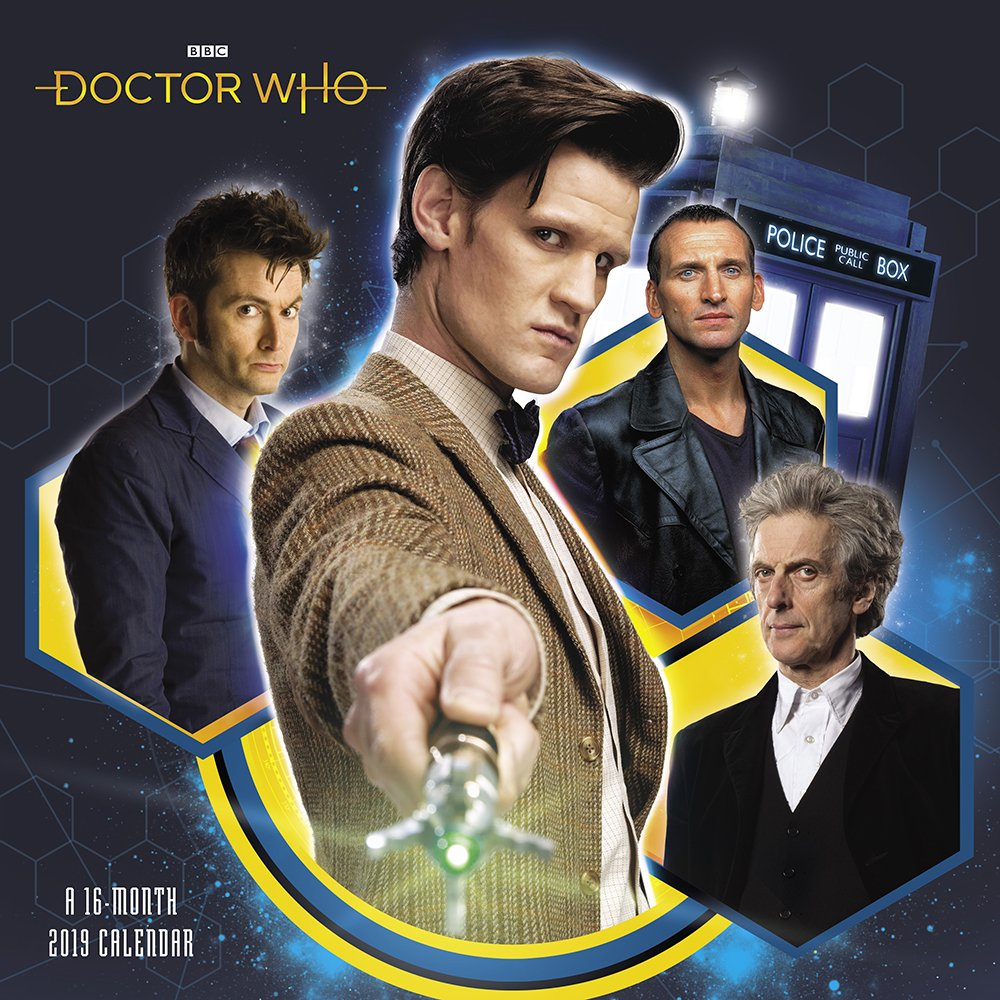 Dr Who Christmas Special 2019.Amazon Com Doctor Who Wall Calendar 2019 9781635712834