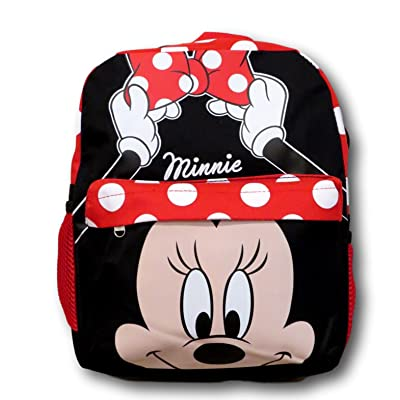 Disney Minnie Mouse Polka Dot 12 inch All Over Toddler Size Backpack | Kids' Backpacks