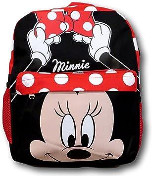 OFFICIAL DISNEY MICKEY MINNIE MOUSE POLKA DOT RED BACKPACK RUCKSACK SHOULDER BAG