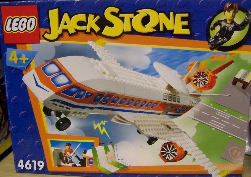 más orden LEGO 4619 Jack Jack Jack Stone - Jet de Patrulla (64 Piezas)  Tienda 2018