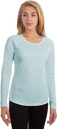 Vapor Apparel Women's UPF 50+ UV Sun Protection Outdoor Quick Dry Long Sleeve T-Shirt