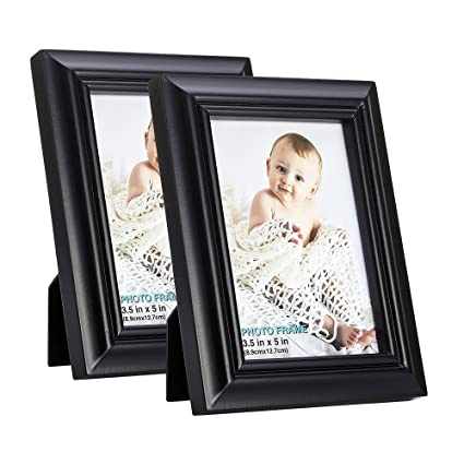 Amazoncom Rpjc 35x5 Picture Frames Set Of 2 Made Of Solid Wood