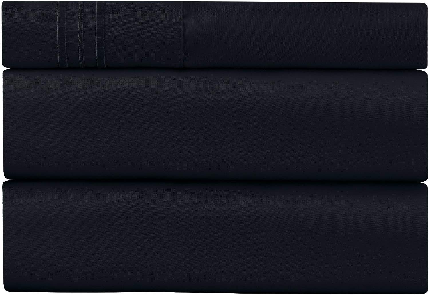 Twin Sheet Set - 1 Pillow Case, Flat and Deep Pocket Fitted Sheet - Extra Soft Twin Sheets - Breathable & Hypoallergenic - Cooling Sheets - Twin Bedding Sets - Fade Resistant (Twin, Royal Blue)
