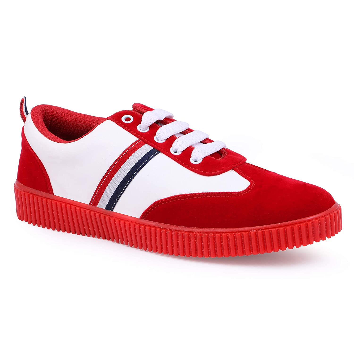Blue/Grey/Brown/Red\u0026White Casual Shoes