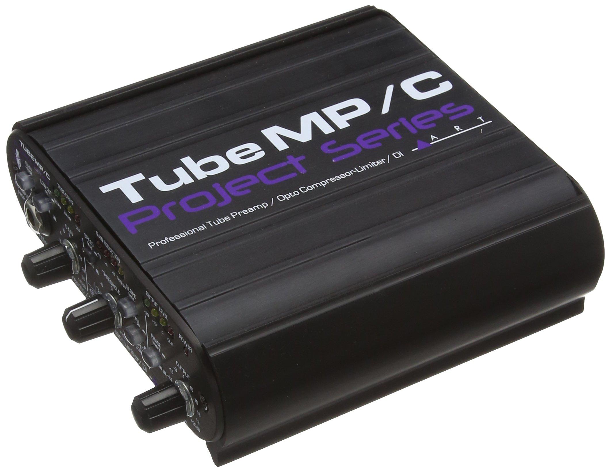ART Tube MP/C Tube Pre-Amplifier/Opto-Compressor-Limiter Project Series
