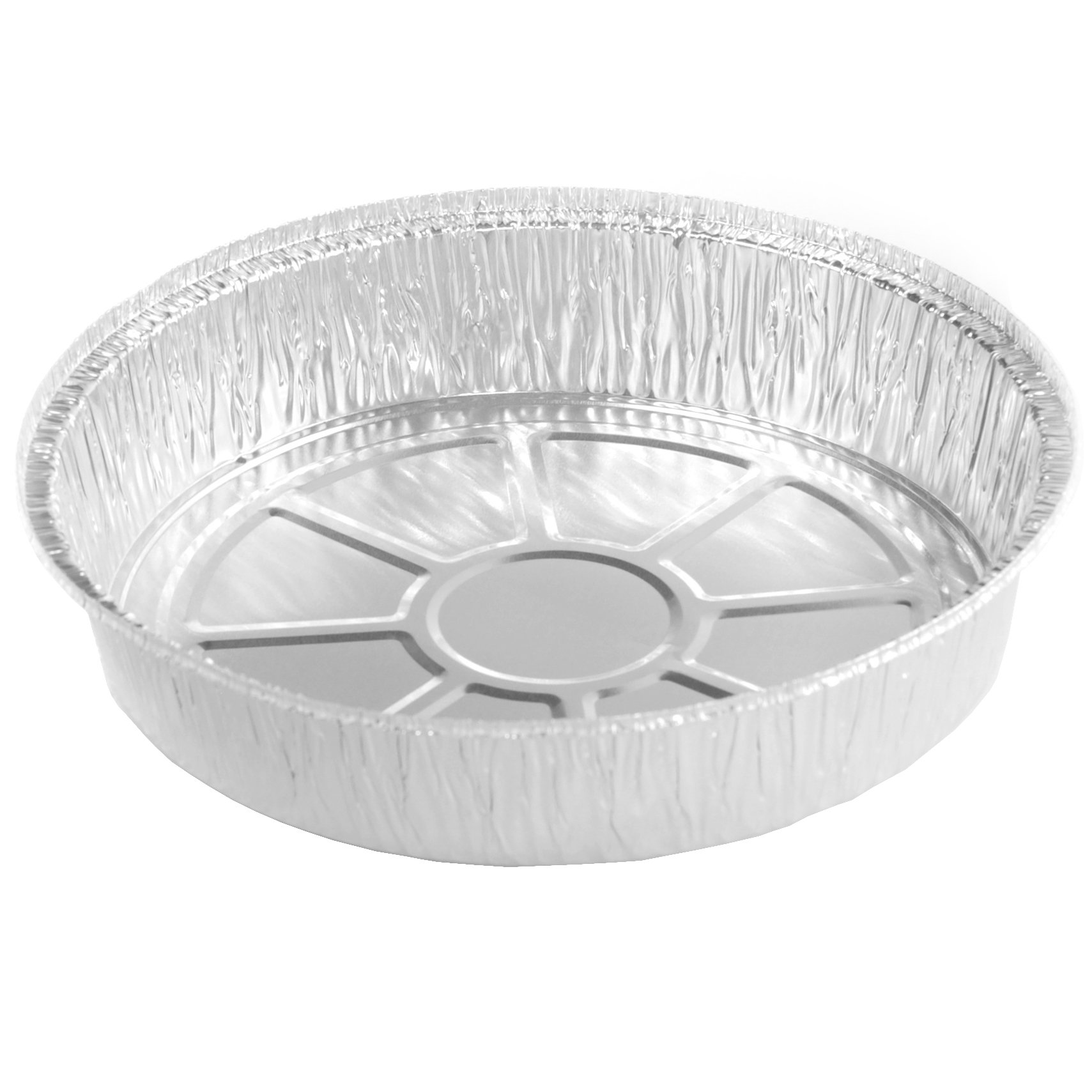Simply Deliver 9-Inch Round Disposable Take-Out Pan, 30 Gauge Aluminum, 500-Count by Simply Deliver (Image #1)