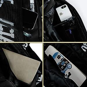 Trido Universal Chest Rig Bag Adjustable Functional Shoulder Pack Walkie Talkie Harness Radio Holster Holder for Men Women (Black) (Color: black)