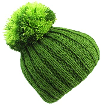 673512c012d Big Bobble Beanie Hat  Terra. 100% Hand Knitted Woolly Hat For Men ...
